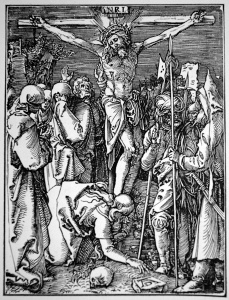 "Dürer's ""The Crucifixion"" (Woodcut)"